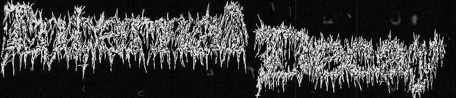 Banner sick gore old bw